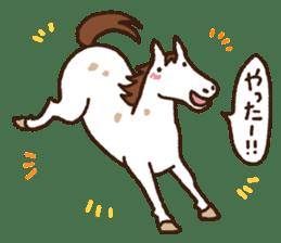 Horses sticker #4857880