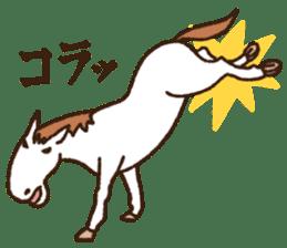 Horses sticker #4857889