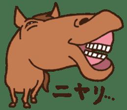 Horses sticker #4857892