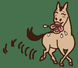 Horses sticker #4857895