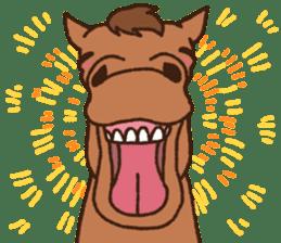 Horses sticker #4857896