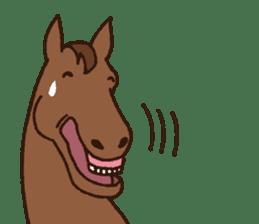 Horses sticker #4857897