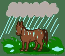 Horses sticker #4857898