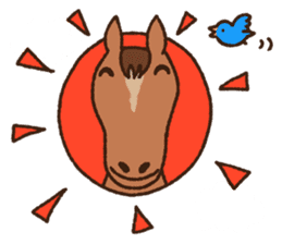 Horses sticker #4857899