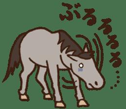 Horses sticker #4857900