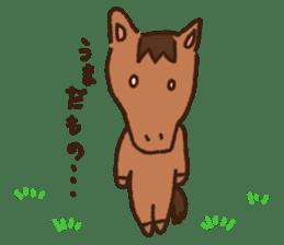Horses sticker #4857901
