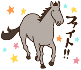 Horses sticker #4857902