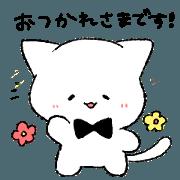 สติ๊กเกอร์ไลน์ RIBON CAT