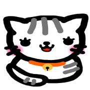 สติ๊กเกอร์ไลน์ The dumpling cat
