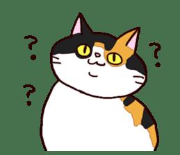 Syo-chan,calico cat sticker #4869467