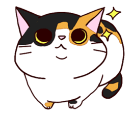 Syo-chan,calico cat sticker #4869471