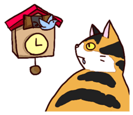 Syo-chan,calico cat sticker #4869474