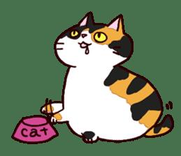 Syo-chan,calico cat sticker #4869475