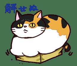 Syo-chan,calico cat sticker #4869481