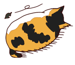 Syo-chan,calico cat sticker #4869482