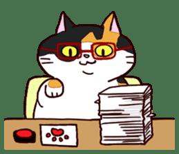 Syo-chan,calico cat sticker #4869484