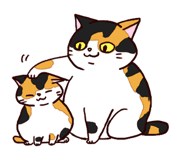 Syo-chan,calico cat sticker #4869489