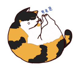 Syo-chan,calico cat sticker #4869490