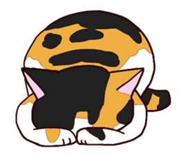 Syo-chan,calico cat sticker #4869497