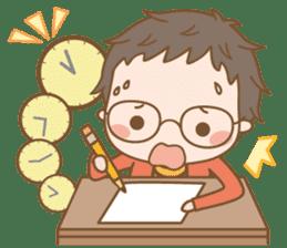 Eyeglasses Boy sticker #4869767