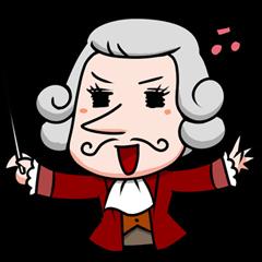 Funny classic musician