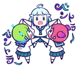 space girls sticker #4876204
