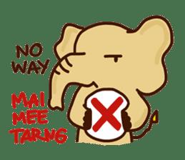 Siam Elephant sticker #4886521