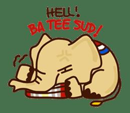 Siam Elephant sticker #4886524