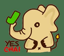 Siam Elephant sticker #4886529