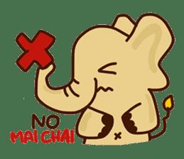 Siam Elephant sticker #4886530