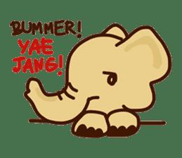 Siam Elephant sticker #4886532