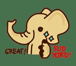 Siam Elephant sticker #4886534