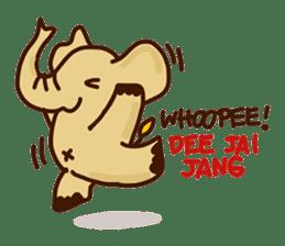 Siam Elephant sticker #4886535