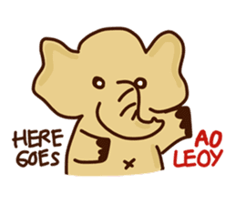 Siam Elephant sticker #4886536