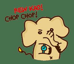 Siam Elephant sticker #4886538