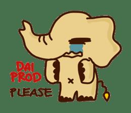 Siam Elephant sticker #4886540