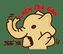 Siam Elephant sticker #4886543