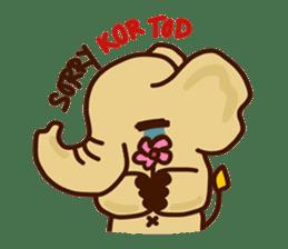 Siam Elephant sticker #4886545