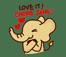 Siam Elephant sticker #4886546