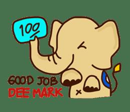 Siam Elephant sticker #4886548