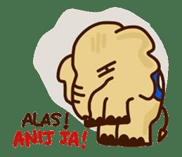 Siam Elephant sticker #4886549