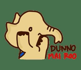 Siam Elephant sticker #4886550