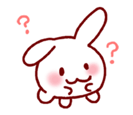 Every day rabbit sticker #4886593