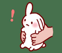 Every day rabbit sticker #4886595