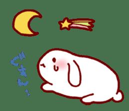 Every day rabbit sticker #4886598
