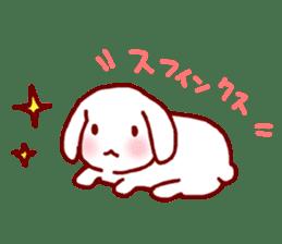 Every day rabbit sticker #4886601
