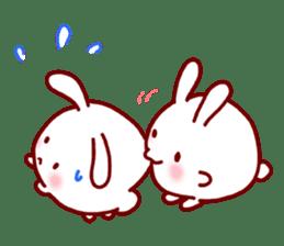 Every day rabbit sticker #4886605