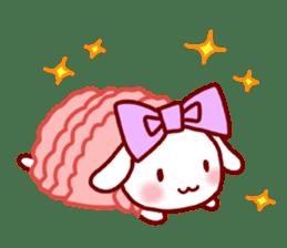 Every day rabbit sticker #4886609