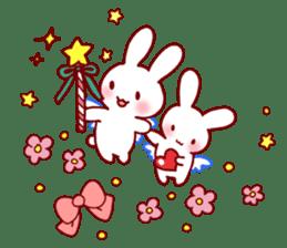 Every day rabbit sticker #4886613