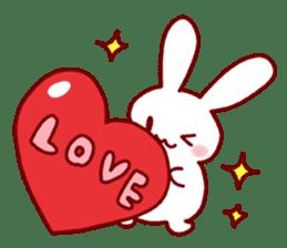 Every day rabbit sticker #4886614